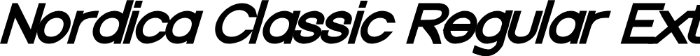 Preview image for Nordica Classic Regular Extended Oblique