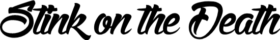 Preview image for StinkontheDeath Font