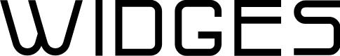 Preview image for Widges Font