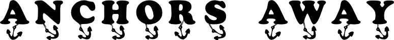 Preview image for KR Anchors Away Font