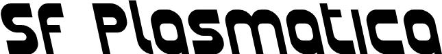 Preview image for SF Plasmatica Rev Bold Italic