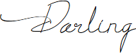 Preview image for Darling Font