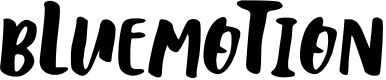 Preview image for bLuemoTion Font