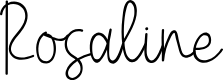 Preview image for Rosaline Font