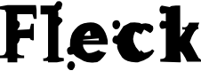 Preview image for Fleck Font