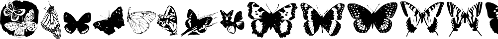 Preview image for Butterflies by Darrian Font