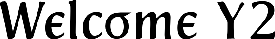 Preview image for Welcome Y2K Font