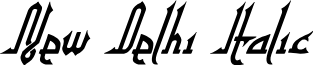 New Delhi Italic