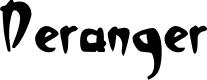 Preview image for Deranger Font