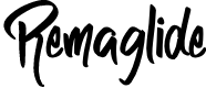 Preview image for Remaglide Font