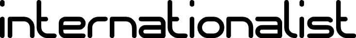 Preview image for internationalist Font