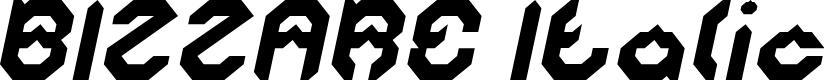 Preview image for BIZZARE Italic
