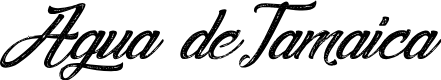 Preview image for Agua deJamaica-Italic Font