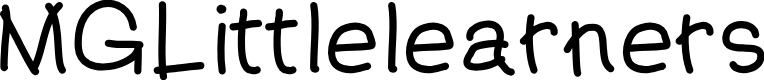Preview image for MGLittlelearners Font