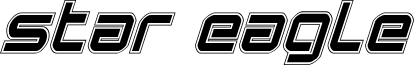 Star Eagle Academy Italic