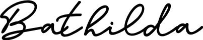 Preview image for Bathilda Font