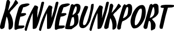 Kennebunkport Bold Italic