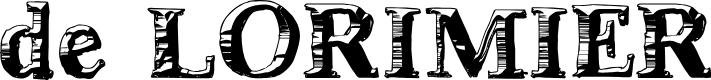 Preview image for deLorimier Regular Font