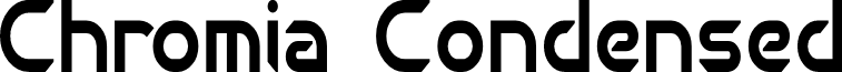 Chromia Condensed