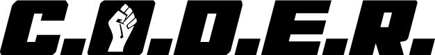Preview image for C.O.D.E.R. Condensed Italic