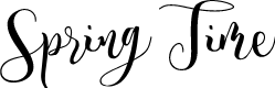 Preview image for Spring Time Personal Use Font
