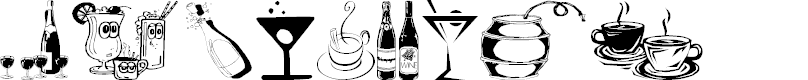 Preview image for Drinks  Various Font