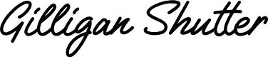 Preview image for Gilligan Shutter Font
