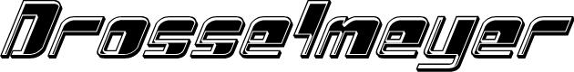 Preview image for Drosselmeyer Bevel Italic