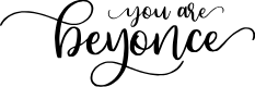 Preview image for Beyonce Font