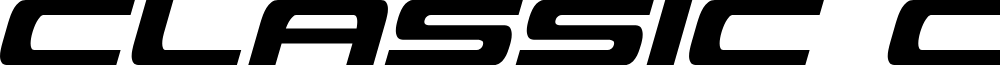 Classic Cobra Condensed Italic