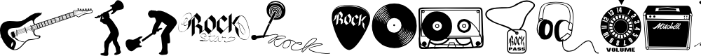 Preview image for Rock Star 2.0 Font