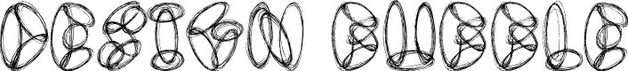 Preview image for Design Bubble Font