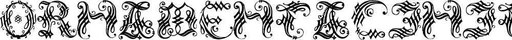 Preview image for OrnamentalInitial Font