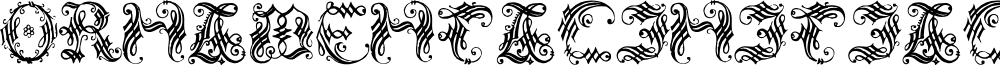 OrnamentalInitial font