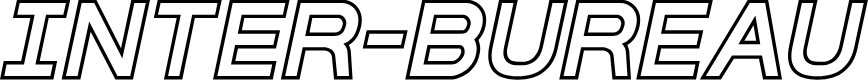 Preview image for Inter-Bureau Outline Italic