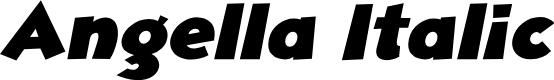 Preview image for Angella Italic