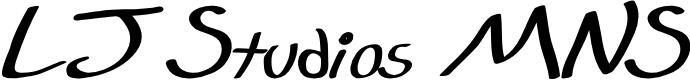 Preview image for LJ Studios MNS - LJ-DesignStudios Manuscrita Font