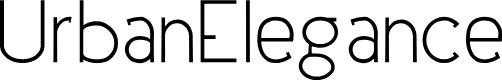 Preview image for UrbanElegance Font