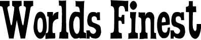 Preview image for WorldsFinest Normal Font