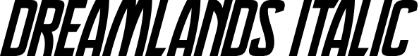 Preview image for Dreamlands Italic