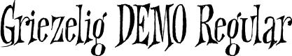 Preview image for Griezelig DEMO Regular Font