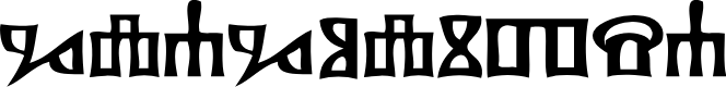 Preview image for Glagolitsa Font