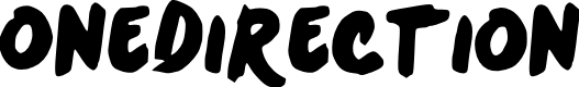 Preview image for OneDirection Font