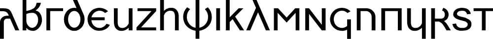 Preview image for Skeirs Font