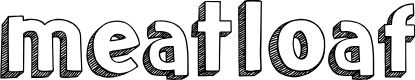 Preview image for meatloaf Font