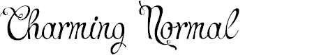 Preview image for Charming Normal Font