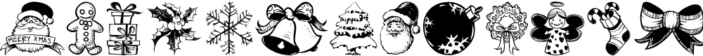 Preview image for Hand Christmas Doodle