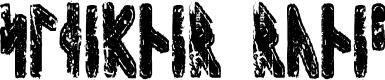 Preview image for Sleipnir Runic Font