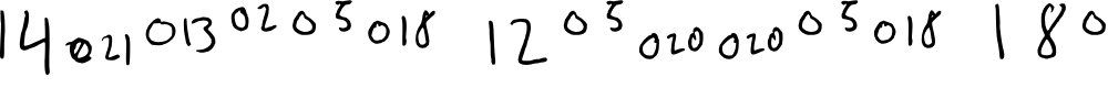Preview image for Number Letter Regular Font