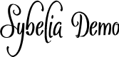 Preview image for Sybelia Demo Font